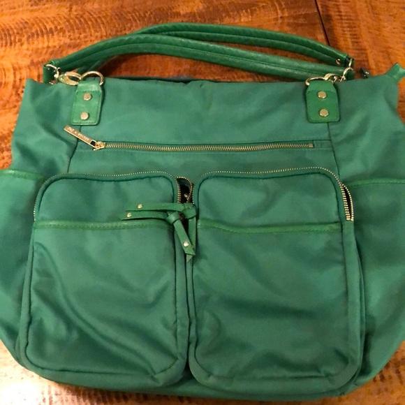 Olivia + Joy Bags   Olivia Joy Kelly Green Laptop Tote   Poshmark 29805c137c